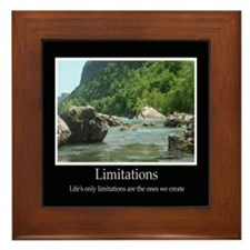 Limitations Decor Accents Framed Tile