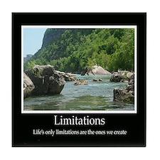 Limitations Decor Accents Tile Coaster