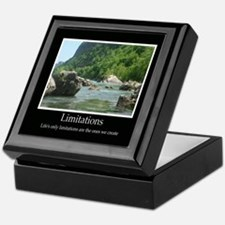 Limitations Decor Accents Keepsake Box