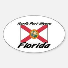 North Fort Myers Florida Oval Decal
