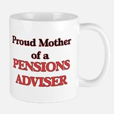 Proud Mother of a Pensions Adviser Mugs