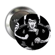 "Edgar Allen Poe 2.25"" Button (100 pack)"