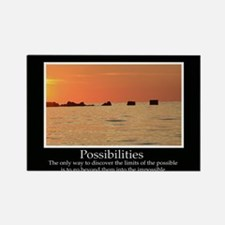 Possibilities Sunset Rectangle Magnet