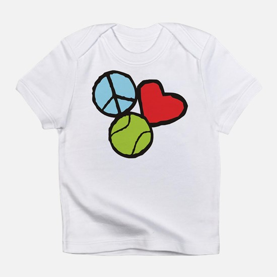 Peace, Love, Tennis T-Shirt