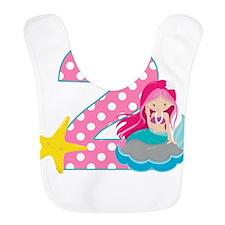 2nd Birthday Mermaid Bib