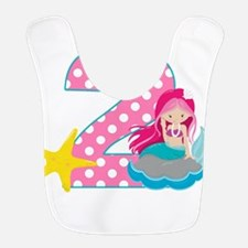 2nd Birthday Mermaid Bib