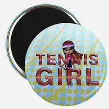 Tennis Girl Magnet