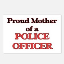 Proud Mother of a Police Postcards (Package of 8)