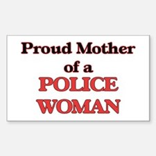 Proud Mother of a Police Woman Decal