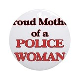 Police woman Ornaments