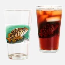 Gopher Rockfish Drinking Glass