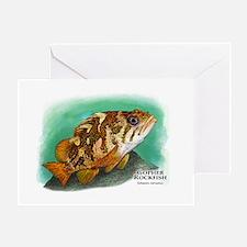 Gopher Rockfish Greeting Card
