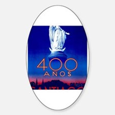 Cute South america Sticker (Oval)