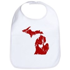 Heart In Michigan Bib
