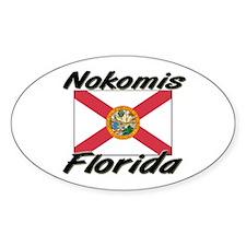 Nokomis Florida Oval Decal