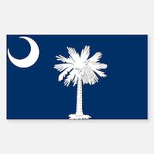 South Carolina Flag Decal