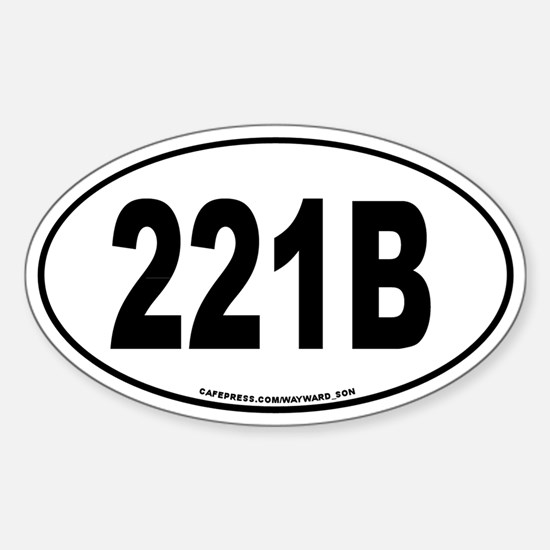 221Bsticker Decal