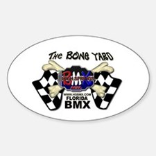 Bone Yard Oval Decal