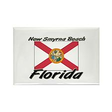 New Smyrna Beach Florida Rectangle Magnet