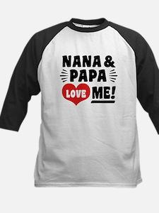 Nana and Papa Love Me Tee