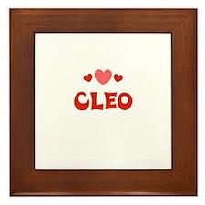 Cleo Framed Tile