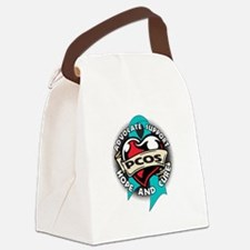 PCOS Support Canvas Lunch Bag