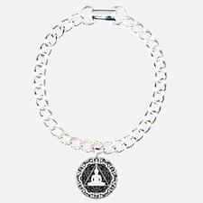Buddha Meditating Sacred Geometry Mandala Bracelet