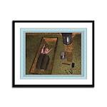 Baby Jesus 12x9 Framed Print