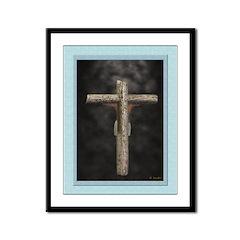 Crucifixion (Back) - 12x9 Framed Print