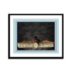 Crucifixion (Top) - 12x9 Framed Print