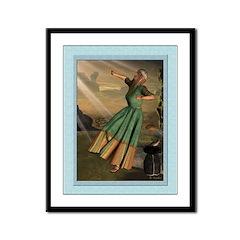 Annunciation II - 9x12 Framed Print