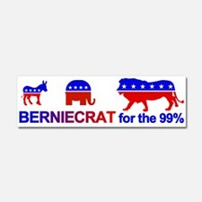 Berniecrat For The 99% Car Magnet 10 X 3