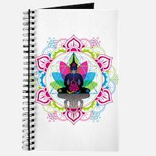Buddha Meditating Sacred Geometry Mandala ohm Jour
