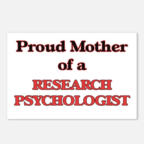 Proud Mother of a Researc Postcards (Package of 8)