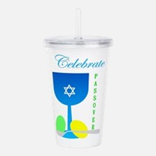 Celebrate Passover Cup Acrylic Double-wall Tumbler