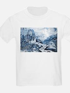 Chinese Porcelain Landscape T-Shirt