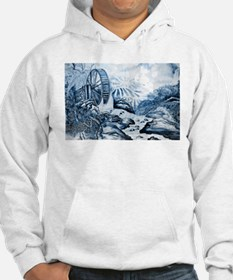 Chinese Porcelain Landscape Hoodie