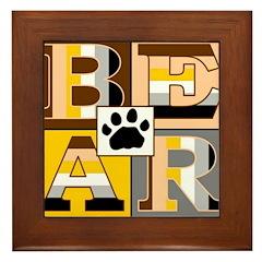 Bearblock Framed Tile