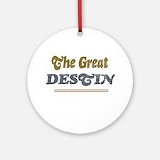 Destin Ornament (Round)