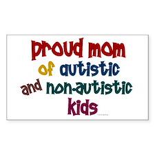 Proud Mom (Autistic & NonAutistic) Decal