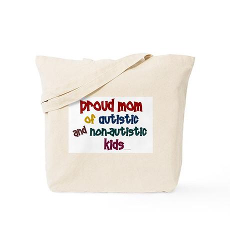 Proud Mom (Autistic & NonAutistic) Tote Bag