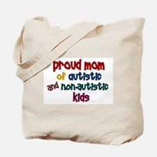 Proud Mom (Autistic & NonAutistic) Tote Bag