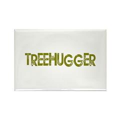 Vintage Treehugger Rectangle Magnet (100 pack)