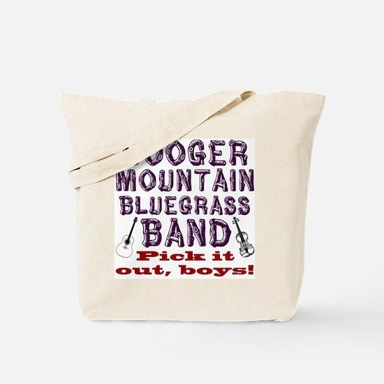 Booger Mountain Bluegrass Ban Tote Bag