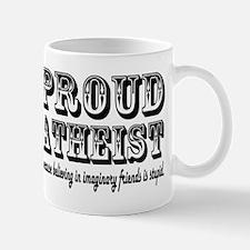proud atheist god funny Mugs