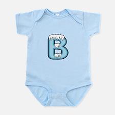 Icy Blue B Infant Bodysuit