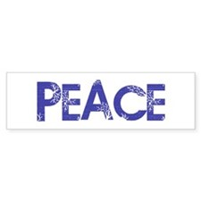 Vintage Peace Bumper Bumper Sticker