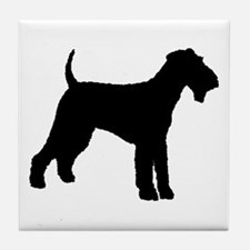 Airedale Terrier Dog Tile Coaster