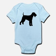 Airedale Terrier Dog Infant Bodysuit