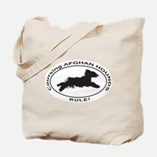 AFGHAN HOUND Coursing Tote Bag